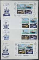 ANGUILLA: 4 FDCs Of 1997, Very Thematic, VF Quality! - Anguilla (1968-...)