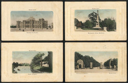 ARGENTINA: BUENOS AIRES: 4 PCs With Nice Views, Ed. Cantiello, Unused - Argentine