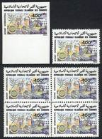 COMOROS ISLANDS: Sc.C107, 1979 Rotary, Single + Block Of 4 + IMPERFORATE Single, VF Quality! - Comores (1975-...)