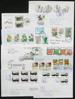 KOREA: 40 Modern Covers Sent To Argentina With Very Interesting And Handsome Postages, Most Of Fine To VF Quality, Few W - Korea (...-1945)