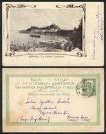 GREECE: CORFU: The Citadel (north Coast), Editor A.Farrugia, Sent To Argentina On 15/AP/1905, Very Rare Destination, Exc - Grèce