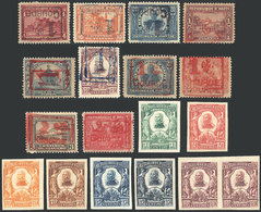 HAITI: Lot Of Old Stamps, Varieties, Several Imperforate, Inverted Surcharges, Etc., VF General Quality! - Haïti