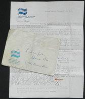 FALKLAND ISLANDS/MALVINAS: Cover With Cachet Of VOLUNTARIAS PARA LA PATRIA, Sent On 8/NO/1982 To A Soldier Of The Malvin - Falkland