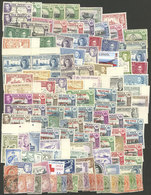 FALKLAND ISLANDS/MALVINAS: Envelope With Large Number Of Stamps, Used Or Mint (ALMOST ALL WITHOUT GUM), Mixed Quality (f - Falkland
