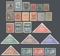 PARAGUAY: Complete Sets Issued Between 1929 And 1940, Some Stamps Are MNH, The Rest Mint Lightly Hinged, And All Of VF Q - Paraguay