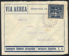 PARAGUAY: 32 Airmail Covers Sent To Argentina Between 1929 And 1944, Very Interesting Combinations Of Frankings And Vari - Paraguay