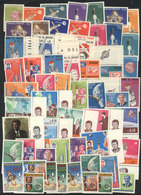 PARAGUAY: Lot Of Complete Sets And Souvenir Sheets (several IMPERFORATE), All MNH And Of Excellent Quality, Topic SPACE  - Paraguay