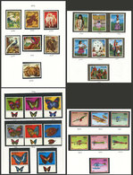 PARAGUAY: Collection In Album, Containing Stamps Issued Between 1972 And 1985 (Yvert 1239 To 2175, Apparently The Period - Paraguay