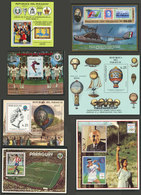 PARAGUAY: BLOCKS AND SOUVENIR SHEETS: Collection In Album (Michel 316/472, Apparently Complete But We Have Not Checked), - Paraguay