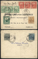 PERU: Cover Sent From Lima To France On 7/FE/1903 Franked With 66c., VF Quality! - Pérou