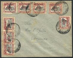 PERU: Cover Used In Arequipa Franked By Sc.193 X8, Very Pretty! - Peru