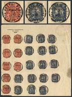 PERU: Sheet With Letterhead Correos Y Telégrafos Del Perú And Oval Datestamp At Top Right Of Agencia Postal Peruana - EL - Peru