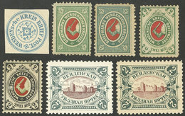 RUSSIA - WENDEN: Interesting Lot Of Old Stamps, Mixed Quality (some With Minor Defects), Very Nice! - Russie & URSS