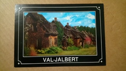 CPSM CP Postcard VAL-JALBERT LAC SAINT-JEAN QUEBEC CANADA - VILLAGE HISTORIQUE DE VAL-JALBERT / AVENUE LA BRECQUE - BE - Quebec