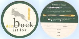 Bierdeckel Ottakringer Brauerei Wien Bockbier Bock Carver Ski Alpin Skifahren Österreich - Sous-bocks