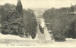 PARIS 19  -  Les Buttes Chaumon,   (train)                   -- LL 407 - Arrondissement: 19