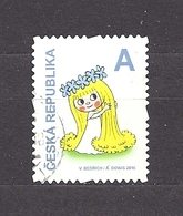 Czech Republic 2016 ⊙ Mi 886 Pof 888 Fairy Amalka - Stamp From Booklet. Fee Amalka  C18 - Used Stamps