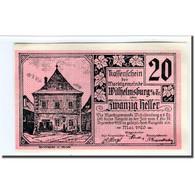 Billet, Autriche, Wilhelmsburg N.Ö. Marktgemeinde, 20 Heller, Blason 1, 1920 - Autriche