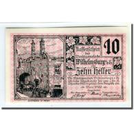 Billet, Autriche, Wilhelmsburg N.Ö. Marktgemeinde, 10 Heller, Blason, 1920 - Autriche