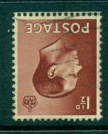 GB 1936 Edward VIII 1½d Watermark FU Lot32689 - Zonder Classificatie