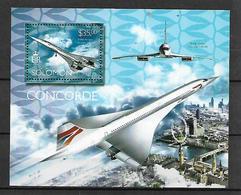 SOLOMON ISLANDS 2014 CONCORDE Souvenir Sheet  MNH LUX - Salomon (Iles 1978-...)