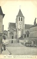 PARIS 20  -  Eglise St-Germain De Charonne                           -- C M 256 - Arrondissement: 20