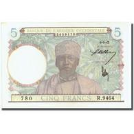 Billet, French West Africa, 5 Francs, 1942, 1942-05-06, KM:25, SPL - États D'Afrique De L'Ouest