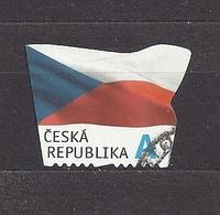 Czech Republic 2015 Gest ⊙ Mi 865 The Flag Of The Czech Republic. Die Flagge Der Tschechische C30 - Tchéquie