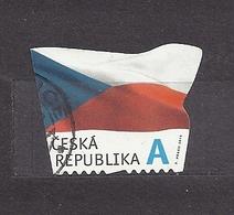 Czech Republic 2015 Gest ⊙ Mi 865 The Flag Of The Czech Republic. Die Flagge Der Tschechische C31 - Tchéquie