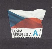Czech Republic 2015 Gest ⊙ Mi 865 The Flag Of The Czech Republic. Die Flagge Der Tschechische C32 - Tchéquie