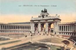 BRUXELLES - Parc Du Cinquantenaire - L'Arcade - Bossen, Parken, Tuinen