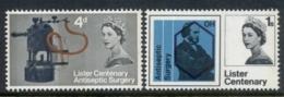GB 1965 Lister Centenary Phosphor MUH - 1952-.... (Elizabeth II)