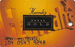 Harrah's Casino Multi-Property - 2a Issue Slot Card - See Scans & Description For Details - Casino Cards