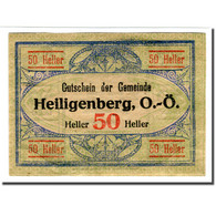 Billet, Autriche, Heiligenberg, 50 Heller, Texte 2, 1920, SPL, Mehl:361Ia - Autriche