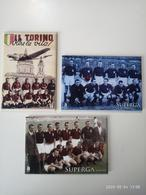 1 Set Lotto 3 Calamite Magneti Da Frigo Torino Superga  Grande Toro - Sports