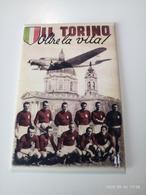 1 Set Lotto 5 Calamite Magneti Da Frigo Torino Superga  Grande Toro 78x53 Mm - Sport