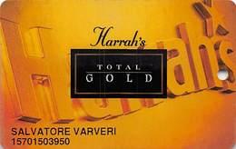 Harrah's Casino Multi-Property - 2c Issue Slot Card - See Scans & Description For Details - Casino Cards