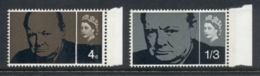 GB 1965 Churchill Phosphor MUH - 1952-.... (Elizabeth II)