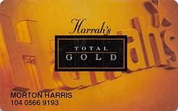 Harrah's Casino Multi-Property - 2d Issue Slot Card - See Scans & Description For Details - Casino Cards
