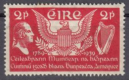 EIRE - IRLANDA - 1939 -  Yvert 75 Nuovo MH, 2 P. - 1937-1949 Éire