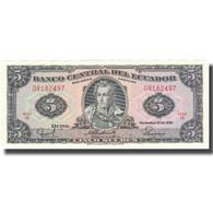 Billet, Équateur, 5 Sucres, 1988, 1988-11-22, KM:120A, NEUF - Equateur