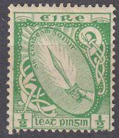 EIRE - IRLANDA - 1922 -  Yvert 40 Nuovo MH, 1/2 P. - 1922-37 Stato Libero D'Irlanda