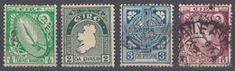 IRLANDA - IRLANDE - EIRE - 1922/1924 - Lotto 4 Valori Usati: Yvert 40, 43, 45, E 48. - 1922-37 Stato Libero D'Irlanda