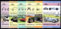 St Vincent Grenadines 1986 Automobiles (3rd Series) Unmounted Mint. - St.Vincent & Grenadines
