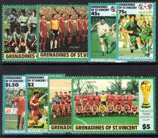 St Vincent Grenadines 1986 World Cup Football Unmounted Mint. - St.Vincent & Grenadines