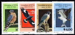 St Vincent Grenadines 1986 Birds Of Prey Unmounted Mint. - St.Vincent & Grenadines