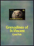 St Vincent Grenadines 1987 Marine Life Souvenir Sheet Unmounted Mint. - St.Vincent & Grenadines