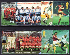 Union Island 1986 World Cup Football Unmounted Mint. - St.Vincent & Grenadines