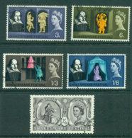 GB 1964 Shakespeare FU Lot24113 - 1952-.... (Elizabeth II)