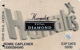 Harrah's Casino Multi-Property - 8th Issue Total Diamond Slot Card - Casino Cards